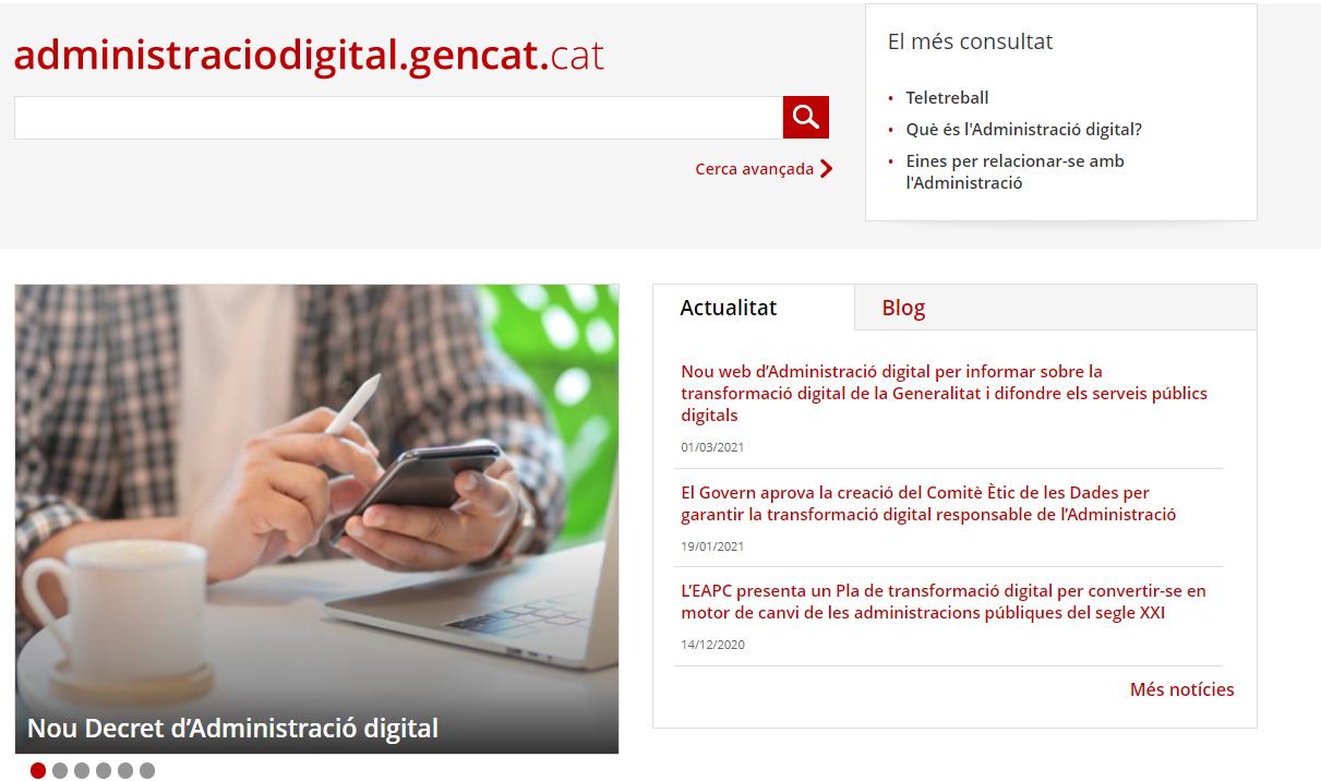 Web administració digital