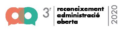 Reconeixement Administració Oberta Posició 3